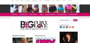Big Curvy Love website screengrab